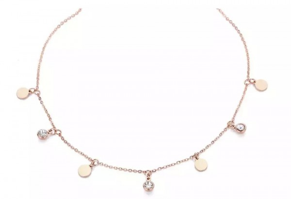 Choker Lucy silver