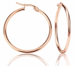 Creole rosegold 6cm